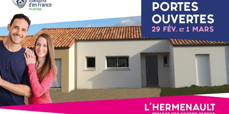 Maison neuve 3 chambres à visiter en Vendée