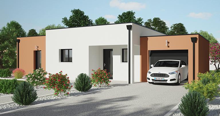 maison Tivano avant Maisons d'en france Atlantique