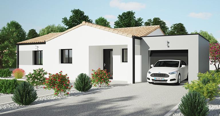 maison Tivano avant 2 Maisons d'en france Atlantique