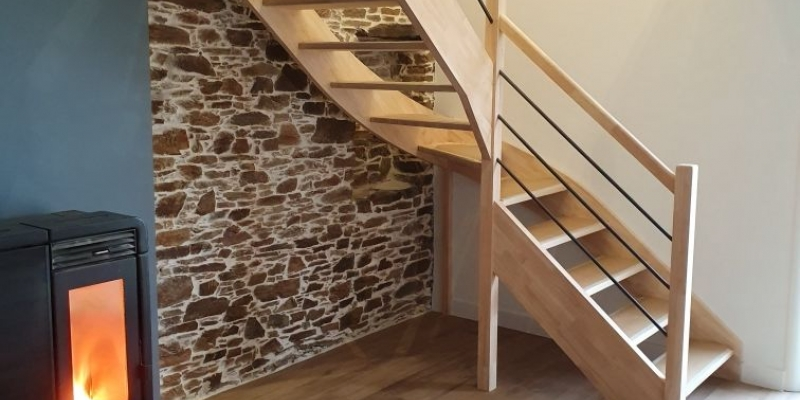 Construction maison neuve à étage   Choisir son escalier