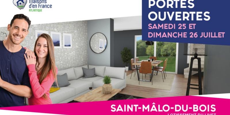 Portes ouvertes Saint-Malô-du-Bois   Constructeur Maisons d'en France