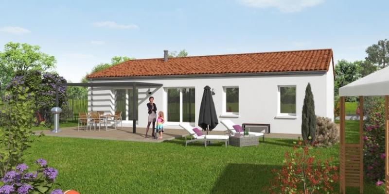 Terrain + Maison à vendre Saint Hilaire de Voust 85 | Maisons d'en France Atlantique