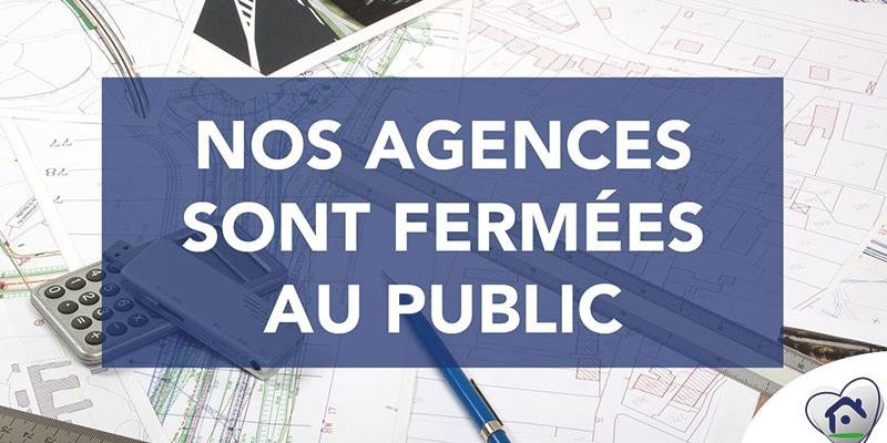 Agences fermées | Maisons d'en France Atlantique