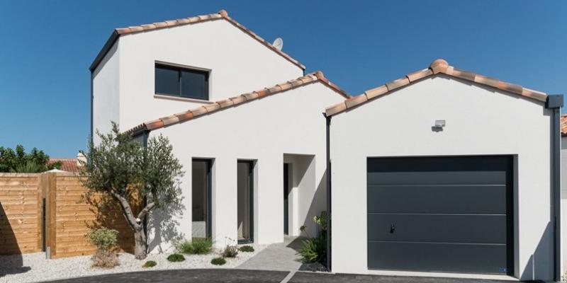 Maison garage en décroché en Vendée