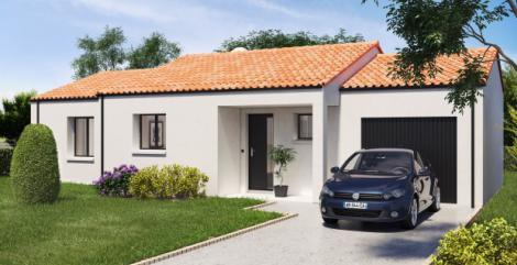 Maison plain-pied Mistral | Constructeur Maisons d'en France Atlantique