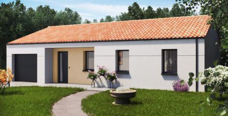 Modèle maison plain-pied Sirocco | Constructeur maison 85,17,79