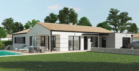 Maison moderne 3 chambres | Maisons d'en France Atlantique