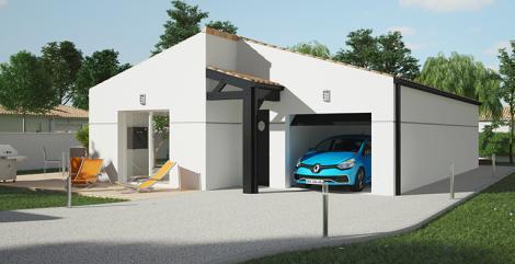 Maison moderne Sitiha | Constructeur 17,79,85 Maisons d'en France Atlantique