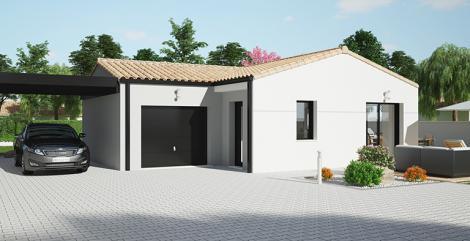 Maison Maloja plain-pied | Constructeur 85,17,79