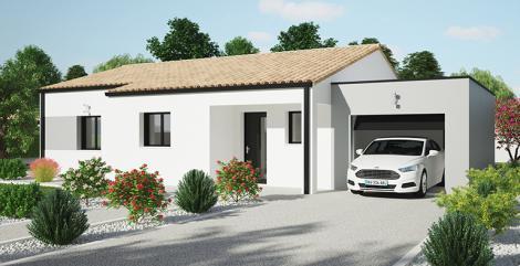Maison moderne Tramontane | Constructeur Maisons d'en France Atlantique