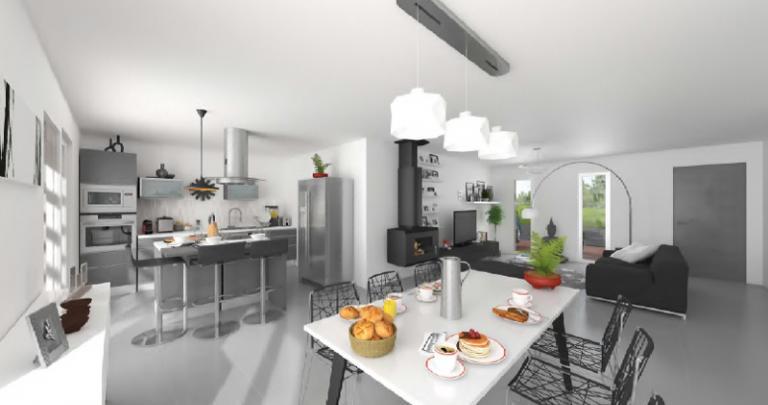 Maison neuve à la Rochelle et Saintes