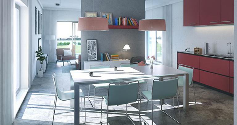 maison Doni intérieur contemporain | Maisons d'en France Atlantique