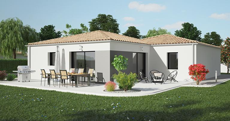 Maison Catalan moderne | Constructeur Maisons d'en France Atlantique