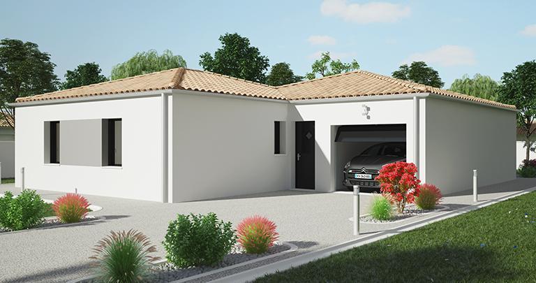 Maison Catalan moderne personnalisable | Constructeur Maisons d'en France Atlantique