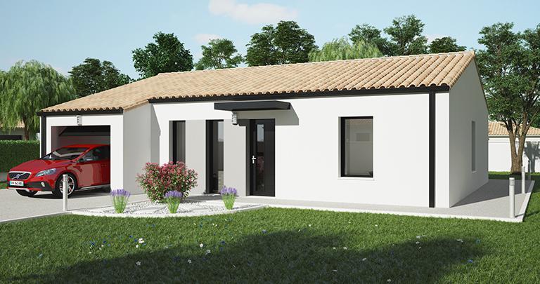 Atlantique - 84 m² - 3 chambres