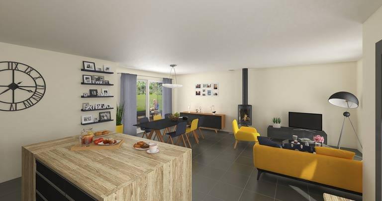 décoration intérieure maison neuve