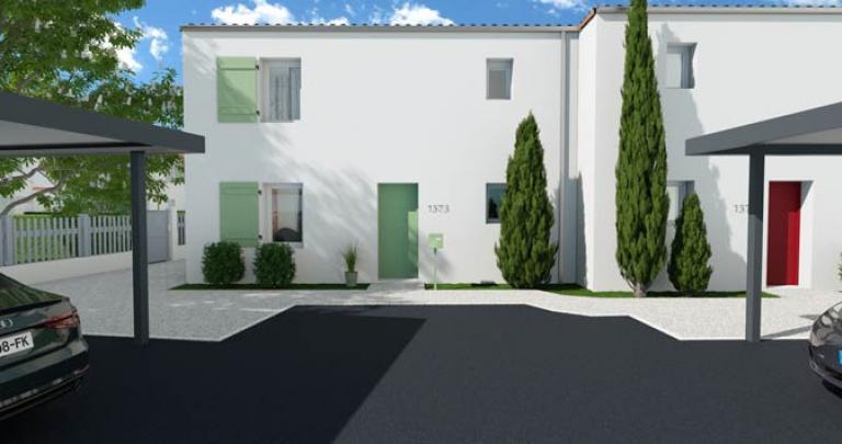 maison neuve royan facade avant