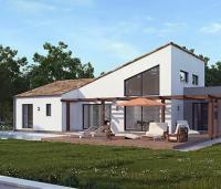 Maison contemporaine Ponto arrière Maisons d'en France Atlantique