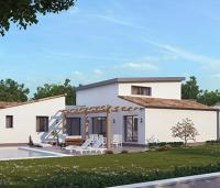 Constructeur Maisons d'en France Atlantique | Maison contemporaine plain-pied personnalisable