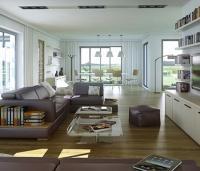 Constructeur Maisons d'en France Atlantique | Maison contemporaine plain-pied 6 chambres