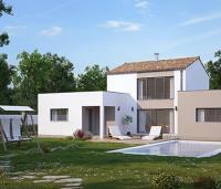 Maison à étage moderne | Maisons d'en France Atlantique