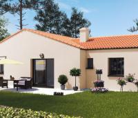 Maison plain-pied Mistral jardin | Constructeur Maisons d'en France Atlantique