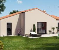 Maison plain-pied Mistral arrière | Constructeur Maisons d'en France Atlantique