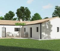 Maison moderne plain-pied | Maisons d'en France Atlantique