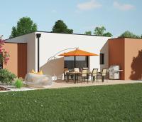 Maison Tramontane toit plat | Constructeur Maisons d'en France Atlantique