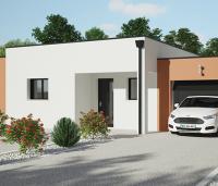Maison moderne Tramontane toit plat | Constructeur Maisons d'en France Atlantique