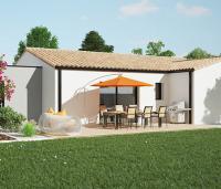 Maison moderne de plain-pied Tivano | Maisons d'en France Atlantique