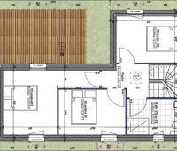 plan étage maison construction