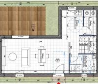 plan rez de chaussée maison neuve